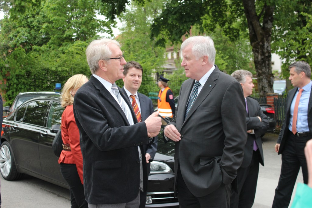 2014 - MP Seehofer in Thundorf.1