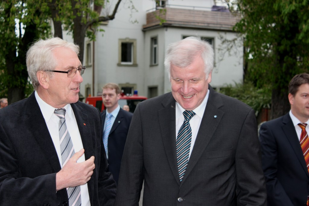 2014 - MP Seehofer in Thundorf.2