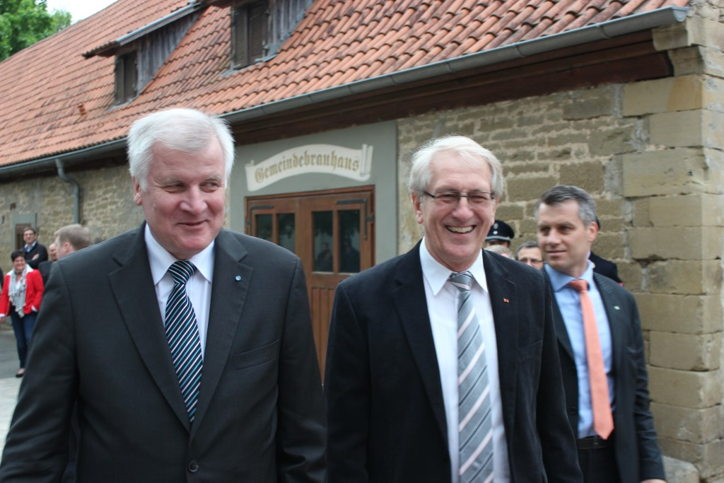 2014 - MP Seehofer in Thundorf.3